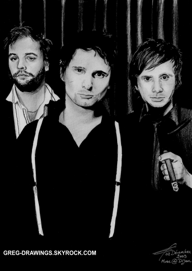 Muse by greg-drawings